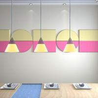 Buy cheap Acoustics Panels Artistic Dinning Room Wall Decorative Acoustic Treatment from wholesalers