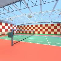 Buy cheap Acoustics Panels Eco-friendly Polyester Acoustic Tiles For Tennis Court from wholesalers