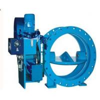 Hydraulic Controlled Butterfly Valve, Weight-loaded