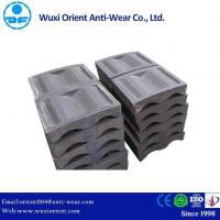 Cheap High Chromium Cast Iron Mill End Lining without Crack and Cool Lap Defects for sale