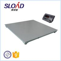 Electronic digital platform weighing scale/3 ton weighing floor scale