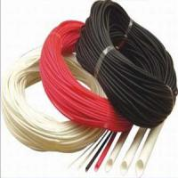 Cheap Silicon Rubber Fiberglass (Fiber Inside and Rubber Outside) Sleeving for sale