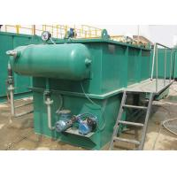 Buy cheap Horizontal flow type dissolved air flotation machine for sewage treatment from wholesalers