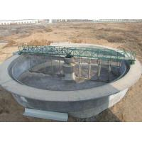 Full bridge peripheral driving sludge scraper/suction dredger