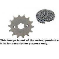 Cheap Cheap Motorcycle Chain and Sprocket Kits 150 Used for Bajaj Discover for sale