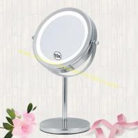 China Single Sided Cosmetic Gift Mirror 10X Magnification LED Makeup Mirror on sale