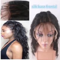 "Cheap 13""*4"" Silk Base Frontal Closure With Hidden Knot Body Wave hair weave for sale"