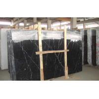 Buy cheap Slab Nero Marquina Marble from wholesalers