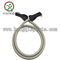 65LB Silver Resistance Exercise Bands Working with Metal D-Ring and Handle