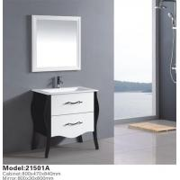 Buy cheap Customize Design European Style Solid Wood Bathroom Cabinet For Hotel from wholesalers