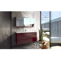 Buy cheap KD Wooden Grain PVC Or Melamine Faced MDF Or Plywood Chipboard Bathroom Cabinet from wholesalers