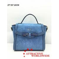 Buy cheap PU Ladies Satchel Bags with Hollow Pattern Design from wholesalers