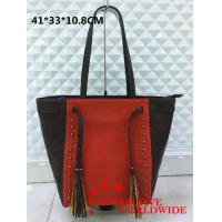 Buy cheap PU Leather WOMEN Shoulder Bags Studded with Bronze Beads from wholesalers