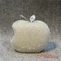 Buy cheap PU Leather Women Apple Mesh Grid Evening Clutches from wholesalers