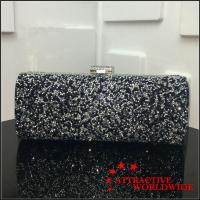 Buy cheap PU Leather Women Rectangular Evening Bag Clutches with Shoulder Chains from wholesalers