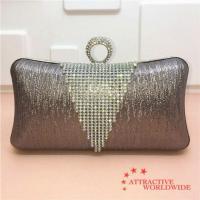 Buy cheap PU Women Rectangular Evening Bag with Ring Lock from wholesalers