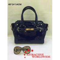 Buy cheap PU Ladies Trapeze Bags with Gold Lock from wholesalers