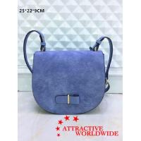 Buy cheap Genuine Leather Ladies Saddle Shoulder Bags from wholesalers