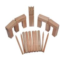 Adult Outdoor Games Kubb Natural Color Kubb Set