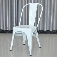 China White Tolix Style Chair on sale