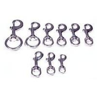 China STAINLESS STEEL SWIVEL ROUND EYE BOLT SNAPS (11) on sale