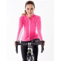 Buy cheap ladies fashion pink long sleeve cycle wear from wholesalers