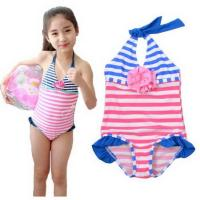 Buy cheap Fashion-Kids-Girls one piece swimwear with flower and lace from wholesalers