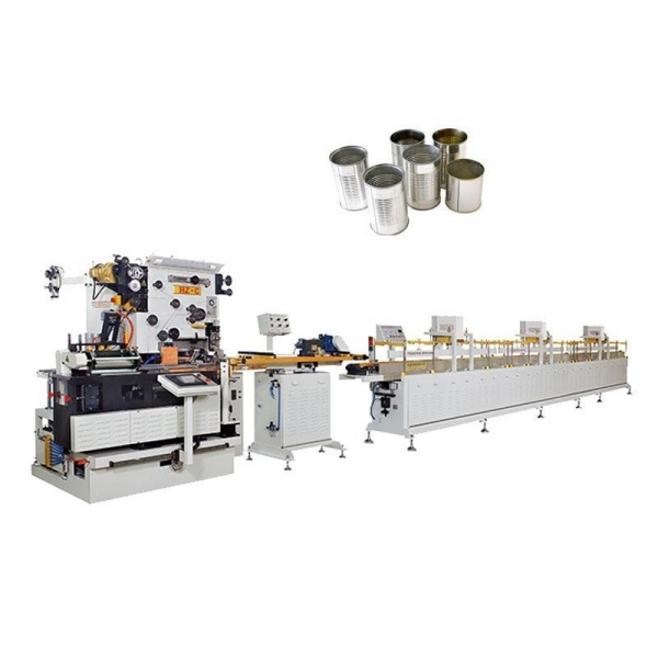 China 3 Piece Can Body Production Line