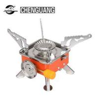 Cheap Outdoor gas stove convenient triangle split air furnace camping picnic stove cooking equipment for sale