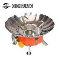 Quality Outdoor gas stove convenient triangle split air furnace camping picnic stove cooking equipment wholesale