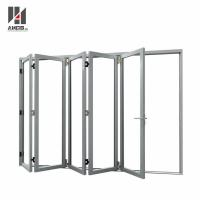 Cheap Customized Aluminum Folding Door With Double Glazing for sale
