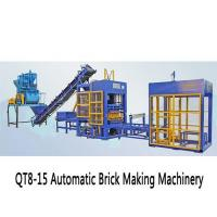 Construction Machinery and Material QT8-15 Automatic Brick Making Machinery