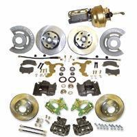 China 64-73 Ford Mustang 64-73 Mustang 4 to 5 lug Front and Rear Disc Brake Conversion on sale