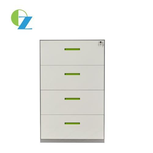 China 8mm Thin Edge 4 Drawer Lateral Filing Cabinet