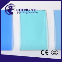 Promote Sale Curtain Wall Tinted Glass Flat Basis Customer'S Need Color Glass