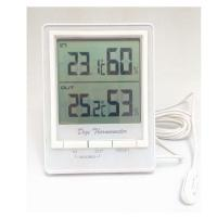 In/Outdoor Thermometer with In/Outdoor Hygrometer