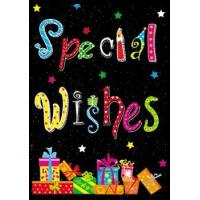 Buy cheap 3D products Special Wishes 3D Lenticular Card from wholesalers