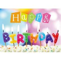 Buy cheap 3D products Happy birthday 3D Lenticular Card from wholesalers