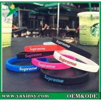 Buy cheap Long Life, Wear Resistance. No Stimulation. No Deformation of the Silicone Rubber Bracelet from wholesalers