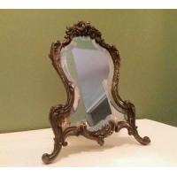 Buy cheap Antique Picture Mirror Photo Frame Ornate Cast Metal Easel Back Ebay from wholesalers