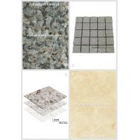 Cheap Green Granite Jiangxi Green And China Exterior Application Net Paste Square Cube 005 for sale