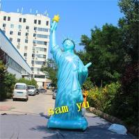 Can Custom Inflatable Statue Of Liberty For Event Decoration