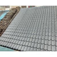 light weight spanish tile roof Synthetic resin tile plastic building material chinese garden foshan
