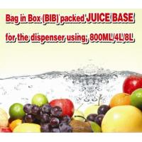 PE Bottle Packed Juice Base 880ml for the Family using or the Small Juice bar