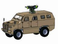 Armored Personnel Carrier Vehicle (9 tons)