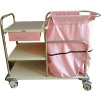 Spraying Plastic Hospital Nursing Trolley