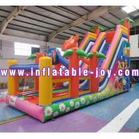 Adult Inflatable Water Slide Super Corps Red Green 0.5mm PVC Large
