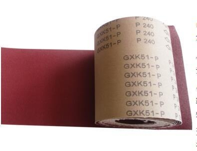 Quality GXK-51P jumbo size Coated Abrasive Cloth Roll Gxk51-P for Narrow Abrasive Roll wholesale