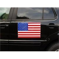 Buy cheap Bumper Stickers American Flag Magnet - 12