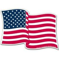 Buy cheap Bumper Stickers American Flag Magnet - 5
